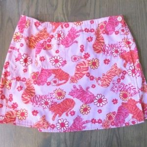 Lilly Pulitzer Reversible Wrap Mini Skirt 2